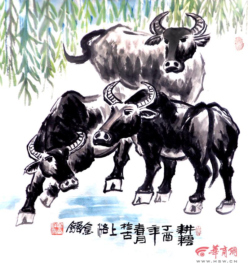 肖焕,王崇仁等名师,攻读了美国画家赓赫尔脱格仑编著的《动物画技法》