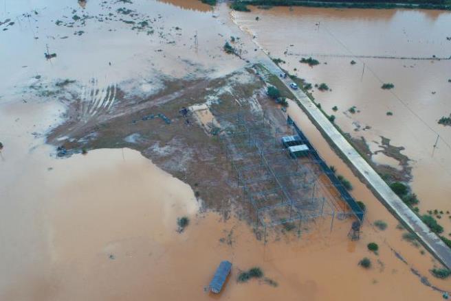 暴雨致江西51.4万人受灾 航拍受灾村庄画面