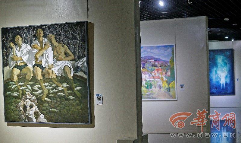 不可錯過!全國中青年油畫精品展西安交大博物