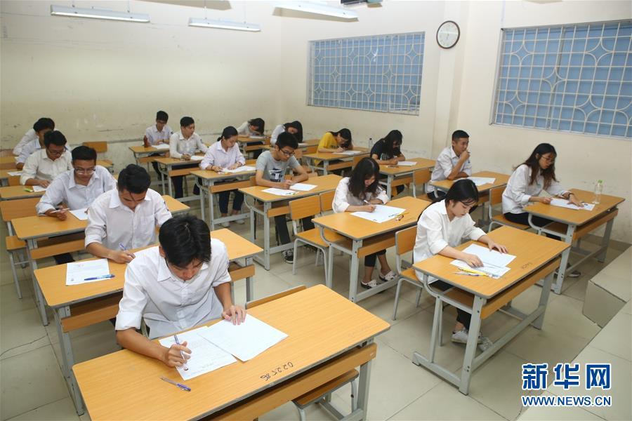 越南高考拉开帷幕 近88万考生参加考试